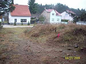 Grenzanzeige Klausdorf Mahlow Mellensee