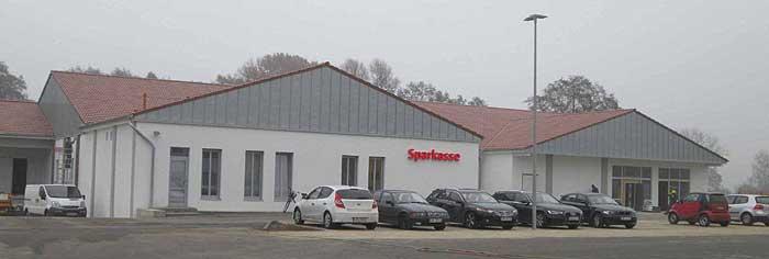 Neubau Friedersdorf Sparkasse